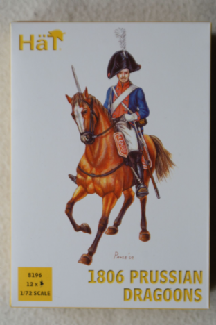 HaT 1/72 HAT8196 1806 Prussian Dragoons (Napoleonic)